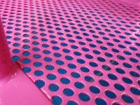 Pintado de Chapas Perforadas de Aluminio y Acero